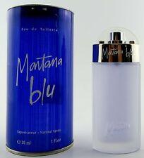 (prezzo base 166,33 €/100ml) Claude MONTANA BLU WOMAN 30ml Eau de Toilette Spray