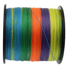 500M 50LB Ashconfish Strong 100% PE Dyneema Multicolor Braided Sea Fishing Line
