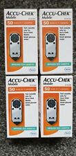 Accu Chek Mobile Blood Glucose Test Strips 200 Tests In 4 Cassettes. Brand New