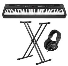 Digital Stage Piano 88 Tasten Hammermechanik E-Piano Keyboard Kopfhörer Ständer