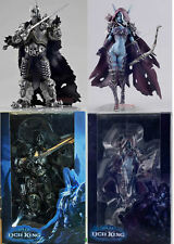 World of Warcraft Lich King Arthas Menethil & Sylvanas Forsaken Queen Figure Set