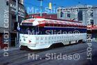 Print Streetcar / Tram: PATransit Pittsburgh Budweiser Paint PCC 1751 In 1980
