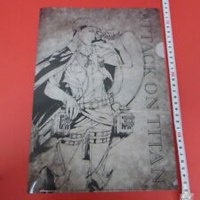 Attack on Titan Erwin Smith Clear File Japan Anime 7-Eleven Limited/g727