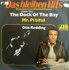 "7"" VG++! OTIS REDDING The Dock Of The Bay + Mr. Pityful"