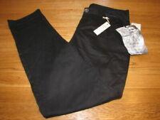 Pantalons chinos noirs pour femme