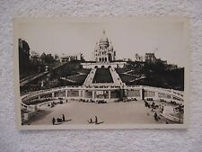 Vintage Postcard Basilique du Sacre-Coeur de Montmartre Real Photo C.A.P. Paris