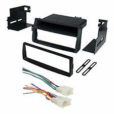 Toyota Corolla Single Din Car Stereo Radio Install Dash Mount Kit Wiring Harness