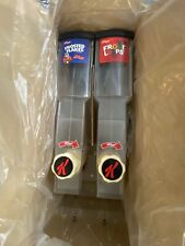 New Kelloggs Twist Commercial Cereal Dispenser Fruit Loops & Frosty Flakes