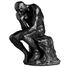 The Thinker (1910) Statue Sculpture by Rodin museum reproduction replica