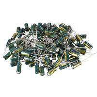 Aluminum Radial Electrolytic Capacitor Low ESR Green 100UF 16V 5x11mm 120pcs