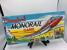 Disneyland Monorail Board Game Walt Disney Parker Brothers 2005 NIB Sealed.