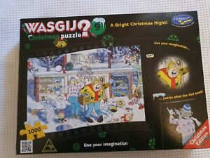 Wasgij Christmas Puzzle No 9 A Bright Christmas Night 1000 piece puzzle