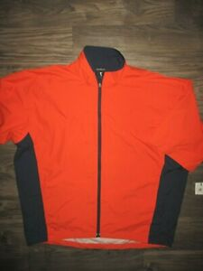 Zero Restriction XL Orange Packable Jacket WATERPROOF