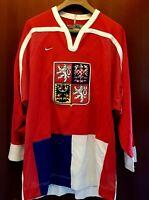 Maglia Hockey Nike • REP. CECA CZECH • Shirt Maillot Trikot Camiseta • XL