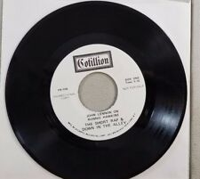 PROMO JOHN LENNON ON RONNIE HAWKINS VINTAGE 45 RECORD PR 104 RE13