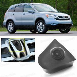 Wide Degree CCD Car Front View Camera Logo Embedded for Honda CRV CR-V 2007-2011