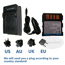 Battery+charger for JVC BN-VF714 BN-VF714U GR-D370U  GZ-MG37