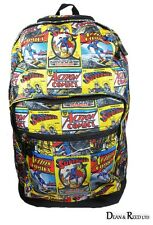 OFFICIAL SUPERMAN RETRO BACKPACK / RUCKSACK / TRAVEL / SCHOOL / UNI BAG