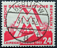 ALLEMAGNE RDA - timbre Yvert et Teliier n°34 obl - stamp Germany (cyn4)