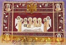 Orthodox Epitaphios Cover With Golden Thread Simple Epitaph Grabtuch Karfreitag
