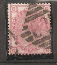 UK-GREAT BRITAIN-1873-VICTORIA- 3 pences- SCOTT nr. 61 -Y&T nr.51 (used stamp)