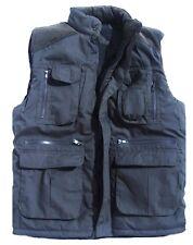 Ultimate Chaleco Para Hombre Xxl Azul Oscuro Acolchado Gillet abrigo con varios bolsillos chaqueta