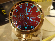 Invicta 26454 50mm Coalition Forces Sniper Tinted Crystal GldTone Bracelet Watch