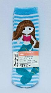 Bath & Body Works Amy The Mermaid Shea-Infused Lounge Socks New with Tags
