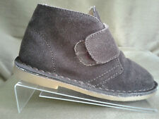 Tucker + Tate Shoes~Size 10.5 LITTLE KIDS~Suede~Brown~Rubber Sole