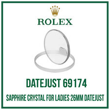 ♛ Sapphire Crystal Glass USA Made For Ladies ROLEX 26mm Datejust 69174  ♛