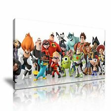 Toy Story Kids Movie Canvas Wall Art Picture Print 60x30cm