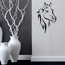 Horse Vinyl Wall Decal Running Horse Wall Art Animal Decal Living Room Decal