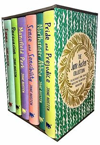 The Jane Austen Collection 6 Books Box Set, Pride and Prejudice, Emma, Mansfield
