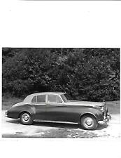 ROLLS ROYCE SILVER CLOUD II SALOON ORIGINAL PRESS PHOTO 'brochure related'