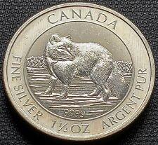 2014 Canada $8 Arctic Fox 1.5 oz 9999 Fine Silver Coin