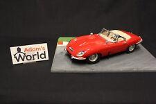 Bburago Jaguar E-Type Cabriolet 1:18 red (MCNB)