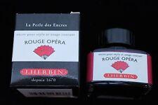 J Herbin Bottled Fountain Pen Ink 30Ml Rouge Opera