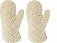 Update International Terry Cloth Oven Mitt Heat Resistant , Set of 2
