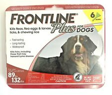 Genuine Merial Frontline Plus For XL Dogs 89-132 lbs  6 Month Supply