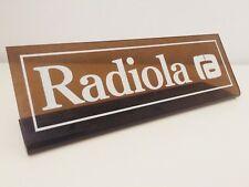 Radiola ra Cartel Metacrilato