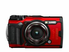 New Olympus Tg-6 Tough 4K Digital Camera - Red (Ideal for Extreme Conditions)