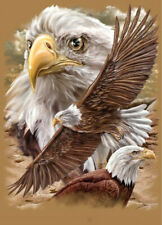 Full Drill Sky Eagle 5D Diamond Painting Cross Crafts Stitch Embroidery Decor
