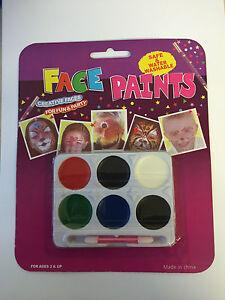Face Paints Face Paint Set Washable Face Painting Kit Kids Body Paints Non Toxic