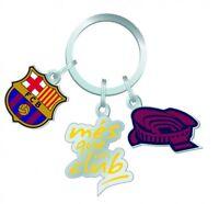 """FC Barcelona Schlüsselanhänger """"mes que un club"""""""