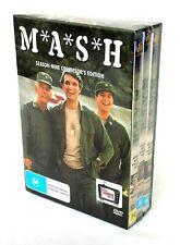 M*A*S*H Season 9 (1981) DVD Box 3-Disc Set-Alan Alda-Mike Farrell-Loretta Swit