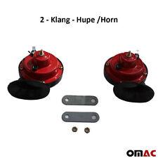2 - Klang - Hupe /Horn für AUTO/KFZ - 12V NEU universal