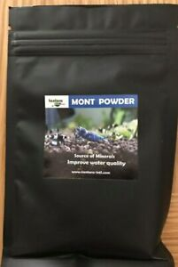 TANTORA MONT POWDER 50g Montmorillonite Mineral Crystal Red Cherry Bee Shrimp