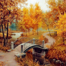 Decor Home Autumn leaves DIY Kit 5D Diamond Painting Embroidery