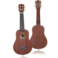 "Goplus 21"" Acoustic Ukulele Musical Instrument Coffee High Quality Professi"