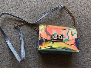 Women Transparent Handbag Tote Messenger Bag Clear Jelly Purse Crossbody Bag